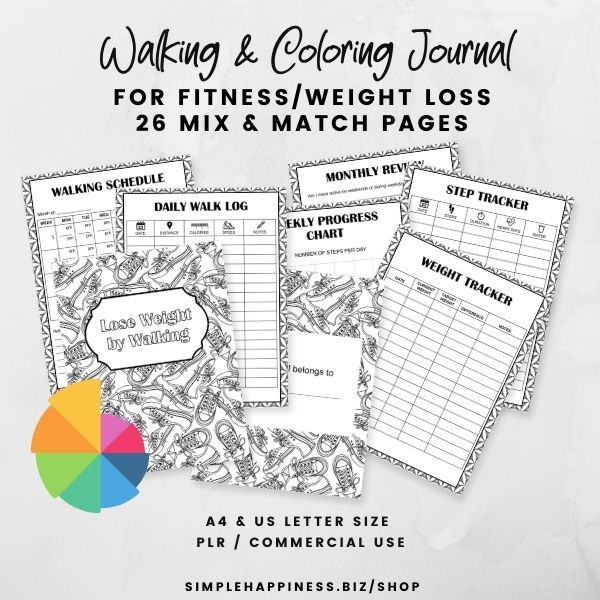 Reading and Coloring journal