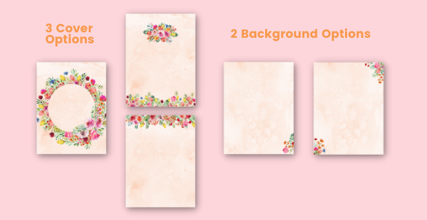 I Love My Mom Journal Cover and Design Options