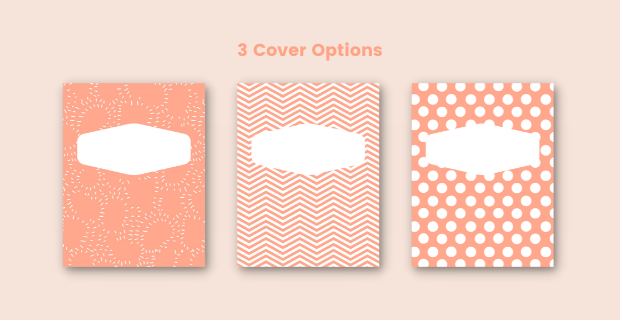 Academic Planner Cover Options